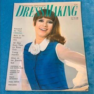 1968 FASHION Dressmaking International Quarterly